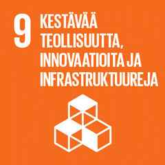 9. Kestävää teollisuutta, innovaatioita ja infrastruktuuria