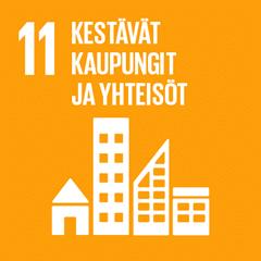 11. Kestävät kaupungit ja yhteisöt