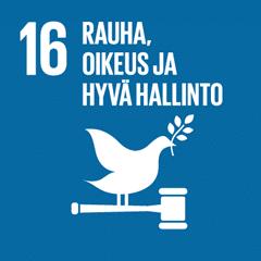 16. Rauhaa ja oikeudenmukaisuutta