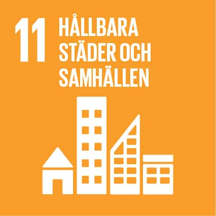 3. Hållbara städer och samhällen