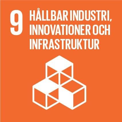 2. Hållbar industri, innovationer och infrastruktur